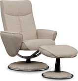 Living Room Furniture-Meridien Chair and Ottoman