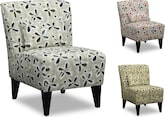 Living Room Furniture-The Fairview Collection-Fairview Accent Chair