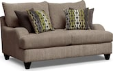 Living Room Furniture-Hollister Loveseat