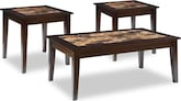 Accent and Occasional Furniture-Dunmore 3-Pack Tables