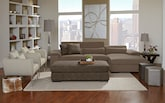 Living Room Furniture-The Vista Collection-Vista 2 Pc. Sectional