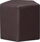 Living Room Furniture-The Weave Collection-Weave Ottoman