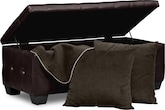 Accent and Occasional Furniture-Calista 4 Pc. Bench Set