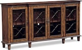 Accent and Occasional Furniture-Bordeaux Media Credenza