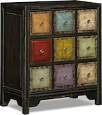 Accent and Occasional Furniture-Carousel Accent Cabinet