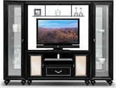 Entertainment Furniture-Paradiso 4 Pc. Entertainment Wall Unit