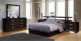 Bedroom Furniture-Wonderland 7 Pc. Queen Bedroom
