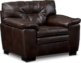 Living Room Furniture-Revere Brown Chair
