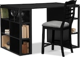 Home Office Furniture-The Woodward Collection-Woodward Storage Workstation