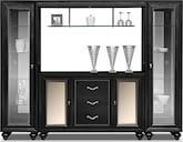 Dining Room Furniture-Astoria Wall Bar