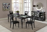 Dining Room Furniture-The Glimmer Collection-Glimmer Table