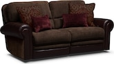 Living Room Furniture-Ramsey 2 Pc. Power Reclining Sofa