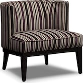 Living Room Furniture-Darcy Taupe Accent Chair