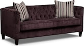 Living Room Furniture-Darcy Violet Sofa