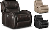 Living Room Furniture-The Lavalle Collection-Lavalle Power Recliner