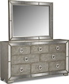 Bedroom Furniture-Angelina Dresser & Mirror