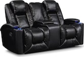Living Room Furniture-Frisco Gliding Reclining Loveseat