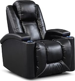Living Room Furniture-Frisco Power Recliner