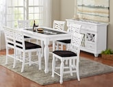 Dining Room Furniture-The Artisan Collection-Artisan Counter-Height Table