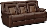 Living Room Furniture-Cobra Dual Reclining Sofa