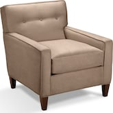 Living Room Furniture-Hudson Cobblestone Accent Chair
