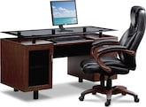 Home Office Furniture-The Foreman Collection-Foreman Executive Desk