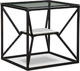 Accent and Occasional Furniture-Latitude End Table