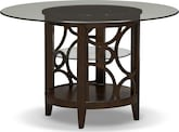 "Dining Room Furniture-Brighton II Pearl 48"" Dining Table"
