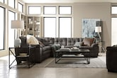 Living Room Furniture-The Revere II Gray Collection-Revere II Gray 2 Pc. Sectional