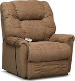 Living Room Furniture-Oberlin Large Power Lift Massage Chair