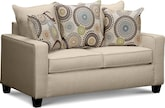 Living Room Furniture-Trocadero Loveseat
