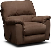 Living Room Furniture-Henson Coffee Rocker Recliner