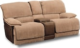 Living Room Furniture-Laguna Gliding Reclining Loveseat