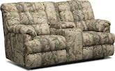 Living Room Furniture-Stockbridge Dual Reclining Loveseat