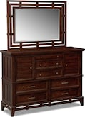 Bedroom Furniture-Brattleboro Dresser & Mirror