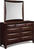 Bedroom Furniture-Clarion Dresser & Mirror
