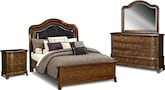 Bedroom Furniture-Emory 6 Pc. Queen Bedroom