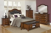 Bedroom Furniture-The Emory Collection-Emory Queen Bed