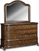 Bedroom Furniture-Emory Dresser & Mirror