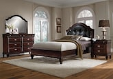 Bedroom Furniture-Dover 6 Pc. Queen Bedroom