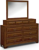 Bedroom Furniture-Hereford Dresser & Mirror