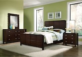 Bedroom Furniture-Palladia 6 Pc. Queen Bedroom