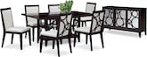 Dining Room Furniture-The Luna Pearl Collection-Luna Pearl Dining Table