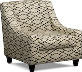 Living Room Furniture-Valencia II Accent Chair