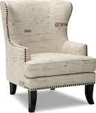 Living Room Furniture-Avignon Accent Chair