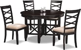 Dining Room Furniture-Davis 5 Pc. Dinette
