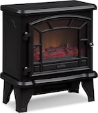 Accent and Occasional Furniture-The Lincoln Collection-Lincoln Electric Fireplace