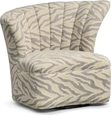Living Room Furniture-Calexico Right Swivel Chair