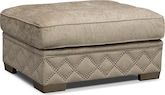 Living Room Furniture-Calexico Ottoman