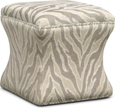 Living Room Furniture-Calexico Cube Ottoman